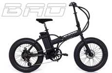 Fat Folding Bikes - The Bad Bike is the World's First Fat Folding Electric Bike