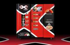 Customizable Pizza Kiosks - NXT Pizza's Food Kiosk Lets Foodies Personalize Their Order