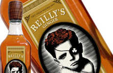 Ruffian Ginger Whiskeys - The Reilly's Ginger Whiskey Blend Boasts a Bitter Taste
