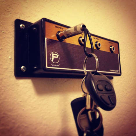 Retro Amp Key Holders