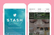 Cosmetic Tracking Apps - The Stash Beauty Shopping App Alerts You to When Products are On Sale
