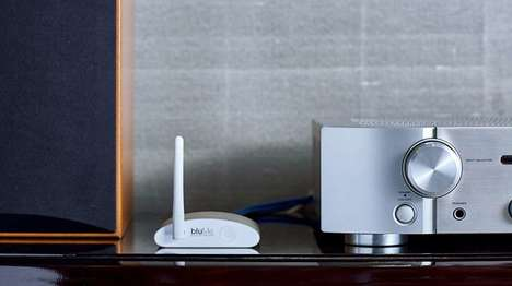 Bluetooth-Providing Accessories - The Auris bluMe Adds Bluetooth to Old-School Audio Equipment