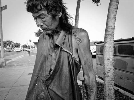 Reunited Father Photos - The Homeless Paradise Series Features the Photographer's Long-Lost Father