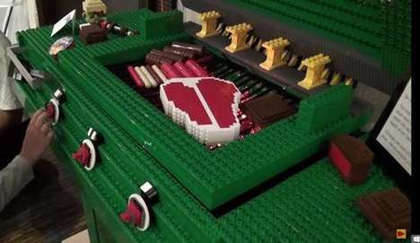 Life-Sized LEGO Barbecues