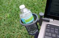 Laptop Drink Holders