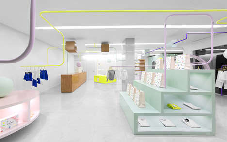 Maze-Like Child Boutiques - The 'Kindo' Store Combines a Sense of Play with High-End Clothing
