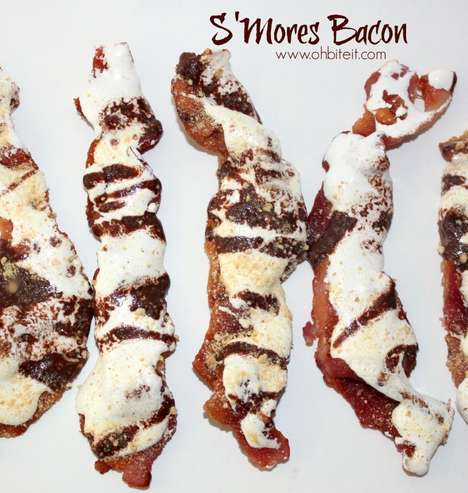 Decadent S'Mores Bacon