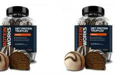 Decadent Protein Truffles - These Protein Supplements Are Baked to Look Like Dessert Items