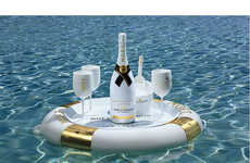 Floating Champagne Bars