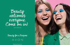 Empowering Beauty Campaigns - This Avon Ad Features Employees and Brand Ambassadors of All Ages