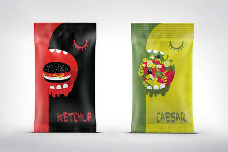 These Sauces are Decorated with the Monster You Become when Hungry