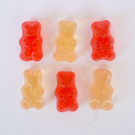 Champagne-Infused Gummies - These Boozy Gummy Bears are the Perfect Party Snack