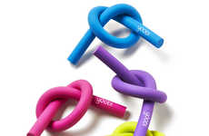 Bendable Eraser Accessories - Yoobi's Pretzel Eraser Packs are Vibrant and Latex-Free