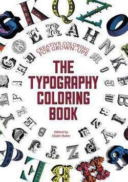 Typographic Coloring Books
