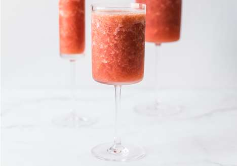 Whimsical Rose Slushies