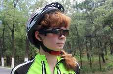 Augmented Reality Cycling Glasses