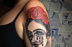 Cubist-Inspired Tattoos