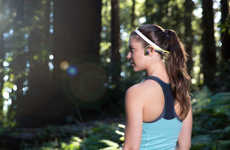 Bone Conduction Headphones - 'Trekz Titanium' is a Wireless Headphone That Rests Above the Ear