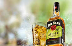 Apple-Flavored Bourbons - The Jim Beam Apple Bourbon Brings a Tarty Twist to a Classic Drink