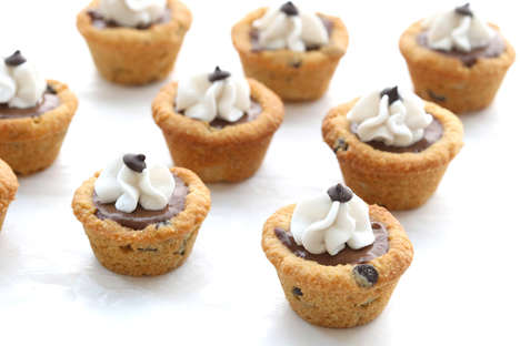 These Chocolate Chip Cookie Pudding Cups are a Healthy Dessert Alternative