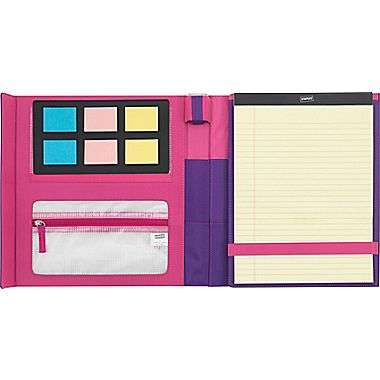 All-In-One School Folders - Staples' Student Folder Includes a Pencil Sharpener, Note Pads and More