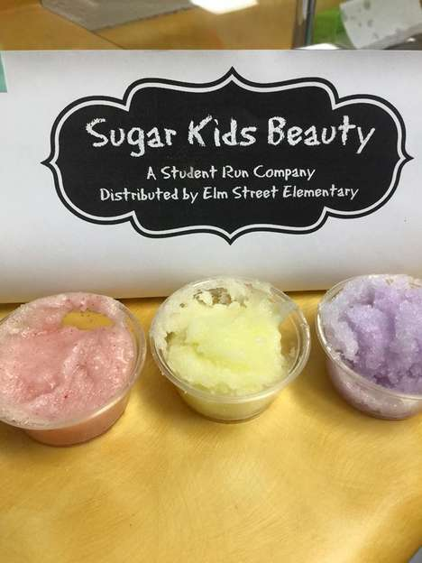 Kid-Made Cosmetics - The First-Graders at Elm Street Elementary School Make and Sell Sugar Scrubs