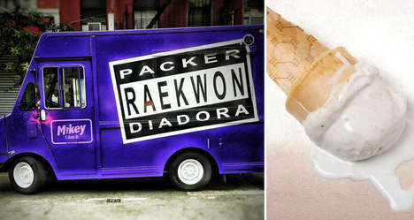 Rapper Ice Cream Trucks - Artist Raekwon is Celebrating a Music Milestone with Ice Cream Treats