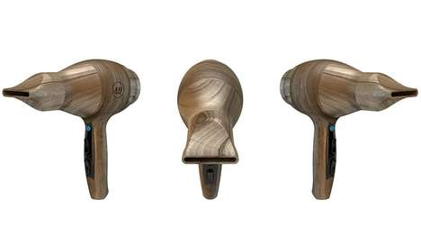Wooden Hair Dryers - The 'wAir' Blow Dryer Allows Users to Dry Hair with a Pleasant Forest Scent