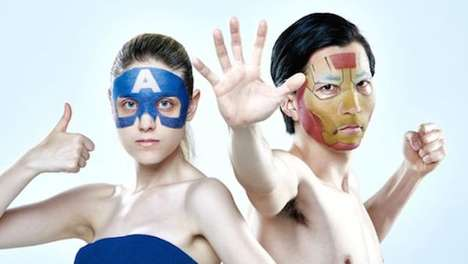 Superhero Skincare Masks