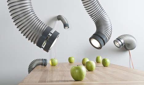 Ventilation Pipe Lamps