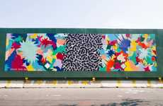 Community-Preserving Graffiti - Brooklyn's Finest Artists Collaborate on a Purposeful Mural Project
