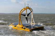 Autonomous Solar-Powered Catamarans - The C-Enduro Catamaran is Studying the Celtic Sea