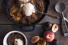 Paleo Crumble Recipes - This Fig and Peach Crumble Dessert is Grain-Free For Those With Allergies