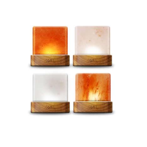 Cubic Salt Lamps