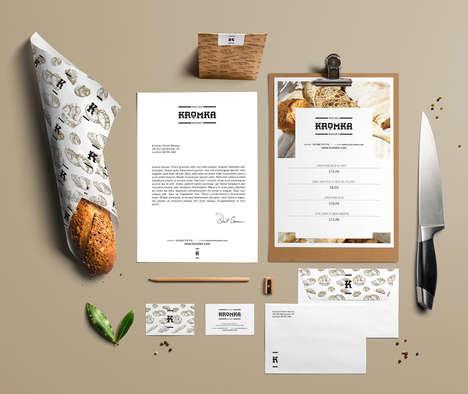 Monogrammed Bakery Branding