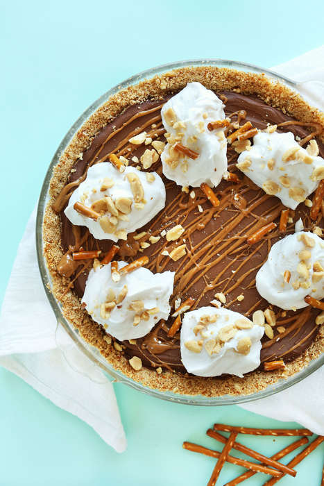 Salty Peanut Butter Pies