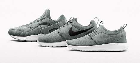 Fleece Fabric Sneakers
