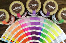 Paint Swatch Salsa Labels