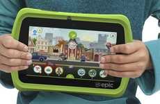 Child-Centric Tablets - The LeapFrog Epic is an Android Tablet For Kids