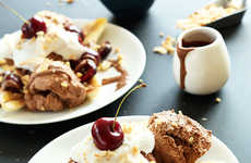 Vegan Banana Splits