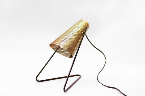 Conical Perforated Lights