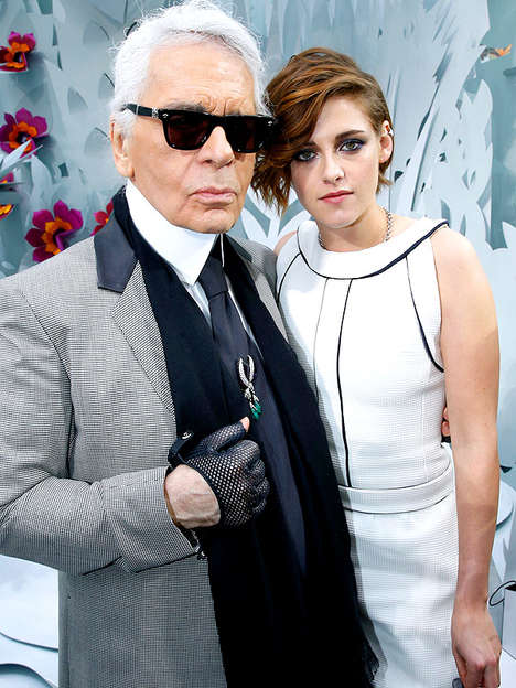 Fashion-Based Biopics - Kristen Stewart Plays Coco Chanel in Karl Lagerfeld's Short Film