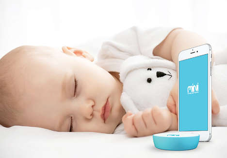 Smartphone Baby Monitors - The 'MINI Avent Baby Monitor' Lets You Listen In on Your Baby's Naps