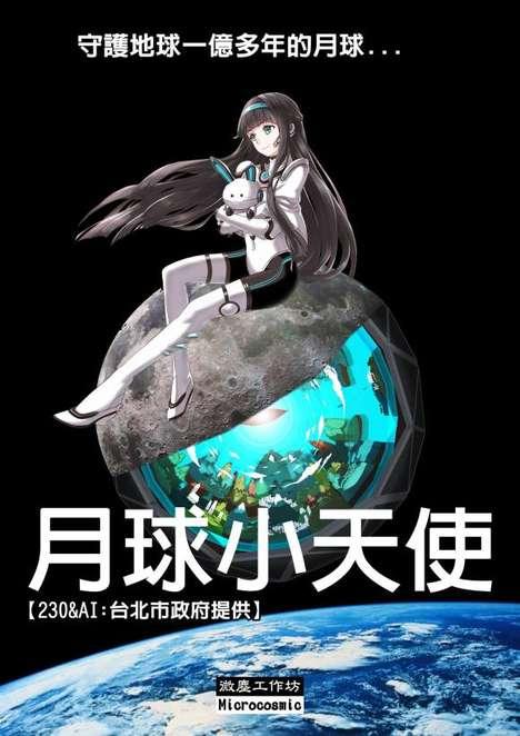 Anime Technology Mascots
