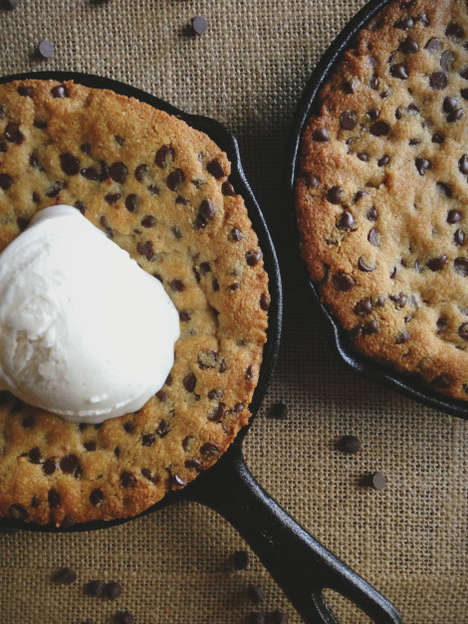 Paleo Cookie Pizzas - This Treat is a Healthier Alternative for a Decadent Dessert