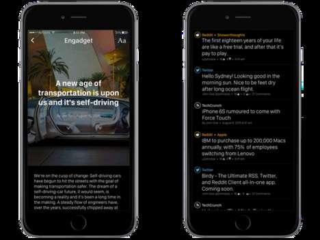 Minimalist News Apps
