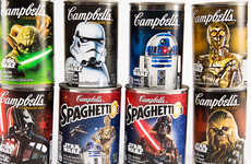 Galactic Soup Cans - An Unexpected Collaboration Resulted in Star Wars Campbell's Soup Cans