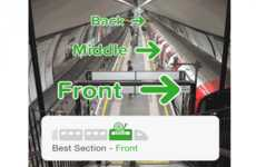 Efficient Train Travel Apps - This App Tells Passenngers Where to Sit on the Train for a Quick Exit