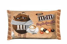 Seasonal Latte-Flavored Candies - The New Pumpkin Spice Latte M&M's Candy Honors Classic Fall Drinks
