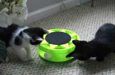 Solar-Powered Cat Toys